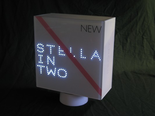 Stella in 2 Illuminated acrylic