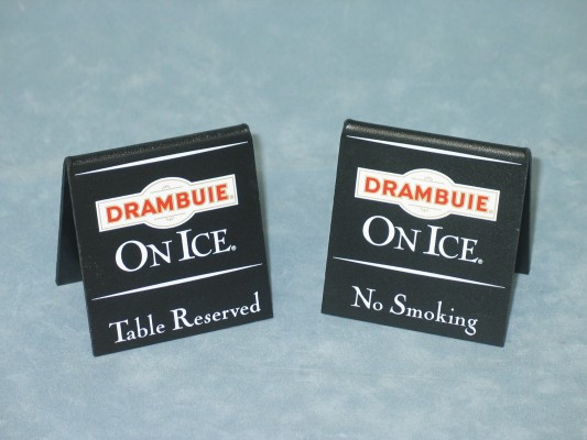Drambuie table signs jpg